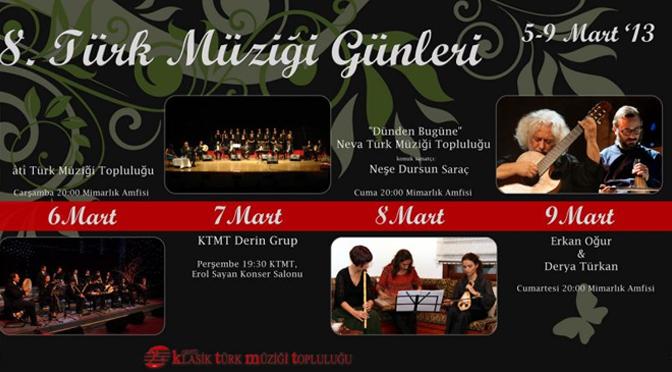 Odtü Türk Müziği Günleri
